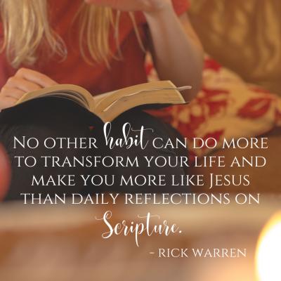 Rick Warren, Scripture