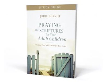 Praying the Scriptures for Your Adult Children book cover