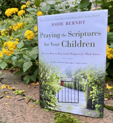 Book by Jodie Berndt with foreword by Audrey Roloff