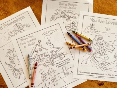 Teach Children to Pray coloring pages