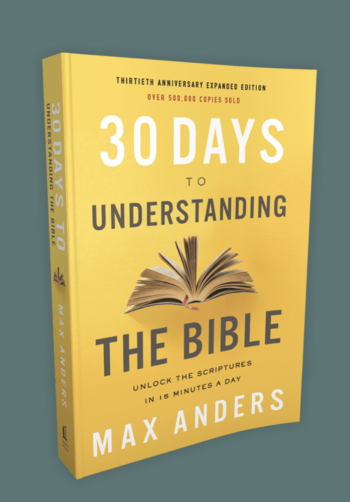 Max Anders book 30 Days to Understanding Your Bible