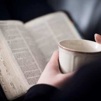 Coffee and Bible are good news