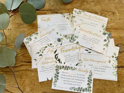 Dashboard Prayer Cards 2