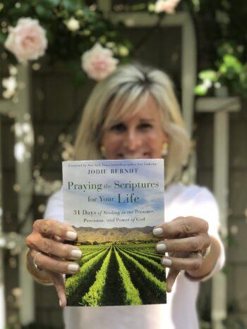Jodie holds latest prayer book