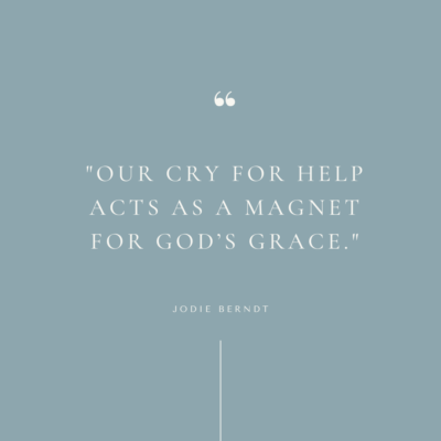 Our prayer for help is a magnet