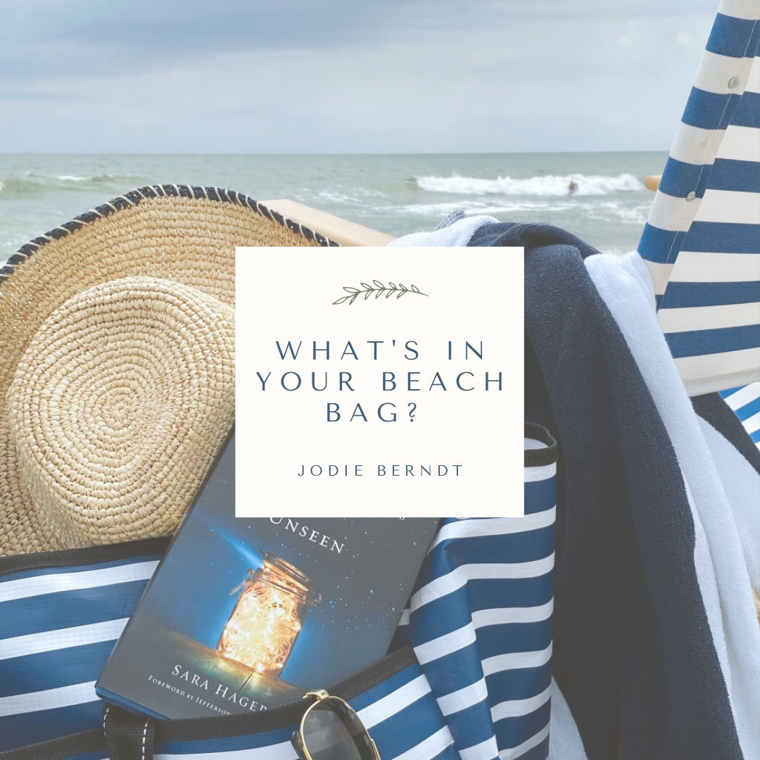 Summer Reading in the beach bag