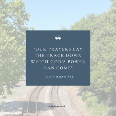 Watchman Nee - Lay the Track